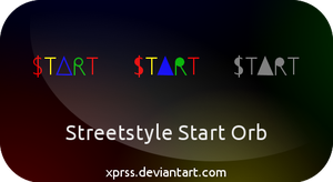 TI$A Streetstyle Start orb - for Windows 7 by XprSS