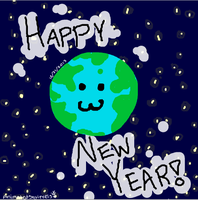 Happy New Year! -to all of deviantart! by AnimatedSquirrel