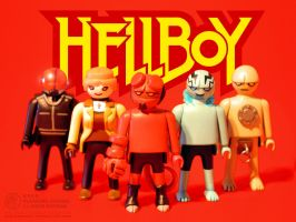 Hellboy Playmobil - Goodguys by JakobWestman