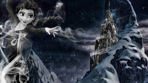 Frozen - 1920x1080 (Elsa Ghost) by CoGraphiC