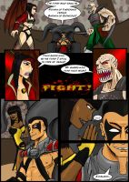 Mortal Kombat Issue #2 Page 10 by MarcusSmiter