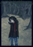 hermione in the woods- dh by Hillary-CW