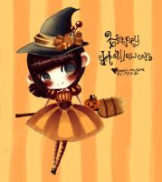 Happy Halloween by orenji-no-ame