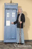 Dr Who Photoshoot: The First Doctor by StrangeStuffStudios