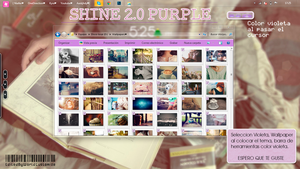 Shine 2.0 Purple by WorldCustomize by WorldCustomize