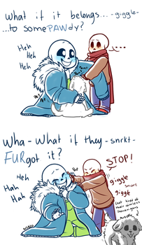 Scared and small part 3 (UNDERTALE) by rafaelathecat1999