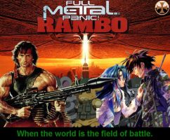Full Metal Panic: Rambo by ExecutorCid