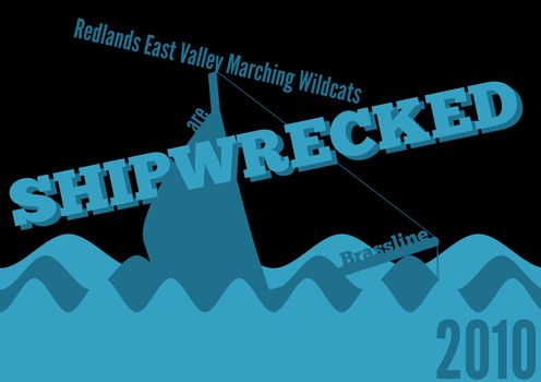 Shipwrecked 2010 T-Shirt Front by HiddenSpartan