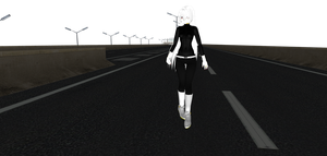 MMD Newcomer : Drag Racer Abrianna by inuyasha231