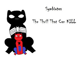 Symbiote, Don't Even Try It by NyctoScoto