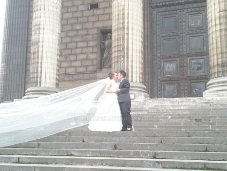 Wedding in Paris  La Madeleine by Monomakh