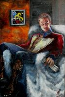 portrait of James Marsters by Lievsky