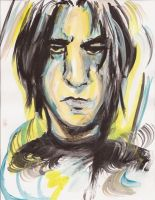 Snape by TheWatermelonSmiles