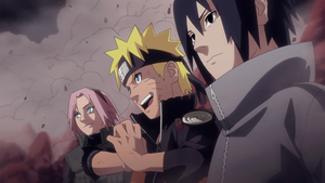 Team 7 - Manga panel coloring by Poch0010