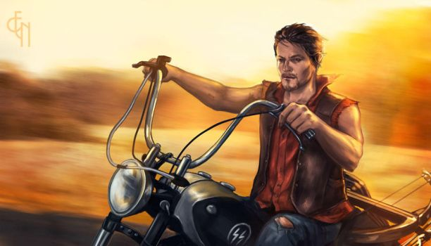 Daryl Dixon - Highway to Hell by Eneada