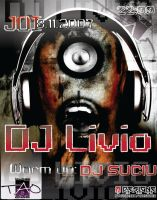 flyer Club TAO - Dj Livio by semaca2005
