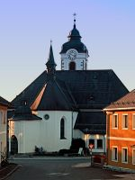 The village church of Vorderweissenbach by patrickjobst