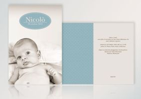 Baptism invitation by ideareattiva