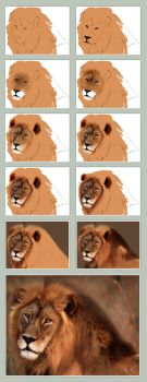 Lion King ::: The Making by mazhear