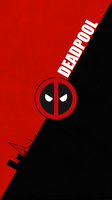 deadpool logo wallpaper by zhalovejun