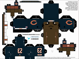 Devin Hester Bears Cubee by etchings13