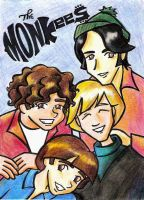 The  Monkees by Kasandra-Callalily