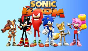 sonic boom wallpaper by scourge1985