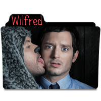 Wilfred TV Show Folder by scarycall