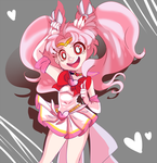 Fan Art: Chibiusa by Stitched-Up-Threads