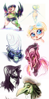 Powerpuff Girls Doodledump-57 by Busterella