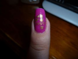 Kpop Fest Nail Art - 4Minute by kkmaree