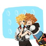 Sora Glomp! by TouchMySitar