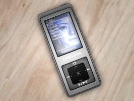 Samsung mp3 Player by antoniopratas