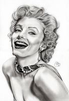 Marilyn Monroe by EmilyHitchcock