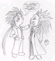 Reno meets Axel by Rulime