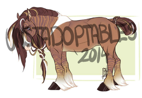 Zebra Draft Auction -CLOSED- by Unstadoptables