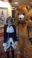 Ciel with Pedobear by SailorDerp