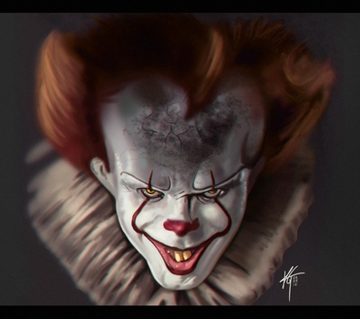 IT - Pennywise the Dancing Clown by KxG-WitcheR