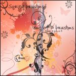 Spring Brushes PS by Coby17