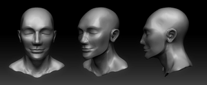 ZBrush Head Quick Sculpt by dannyhuynh99