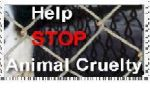Help Stop Animal Cruelty-Stamp by sierramedellin