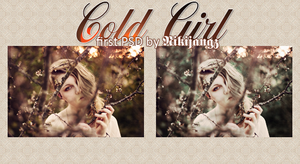 FirstPSD TheColdGirl by Nikijangz by NikiBigbangGD