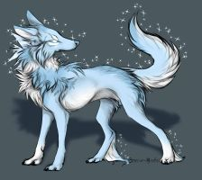 Ice wolf adopt by BlackAdopts93