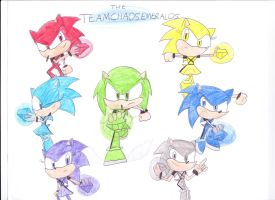 the Chaos Emeralds by sonic4ever760