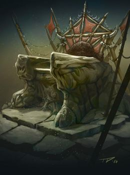 Goblin throne by PrincepsSenatus