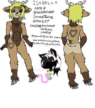 Isabella ref sheet 2015 by GlitterbabyKitty