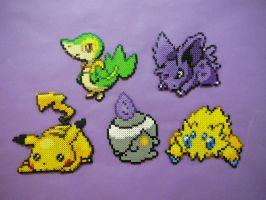 Big Pokemon Perler Bead Sprite by FishingForBirdies