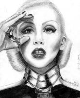 Christina Aguilera by Irishaaa