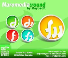 Macromedia Round icons by Mayosoft