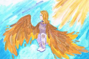 Sitting on Clouds by Ferngirl